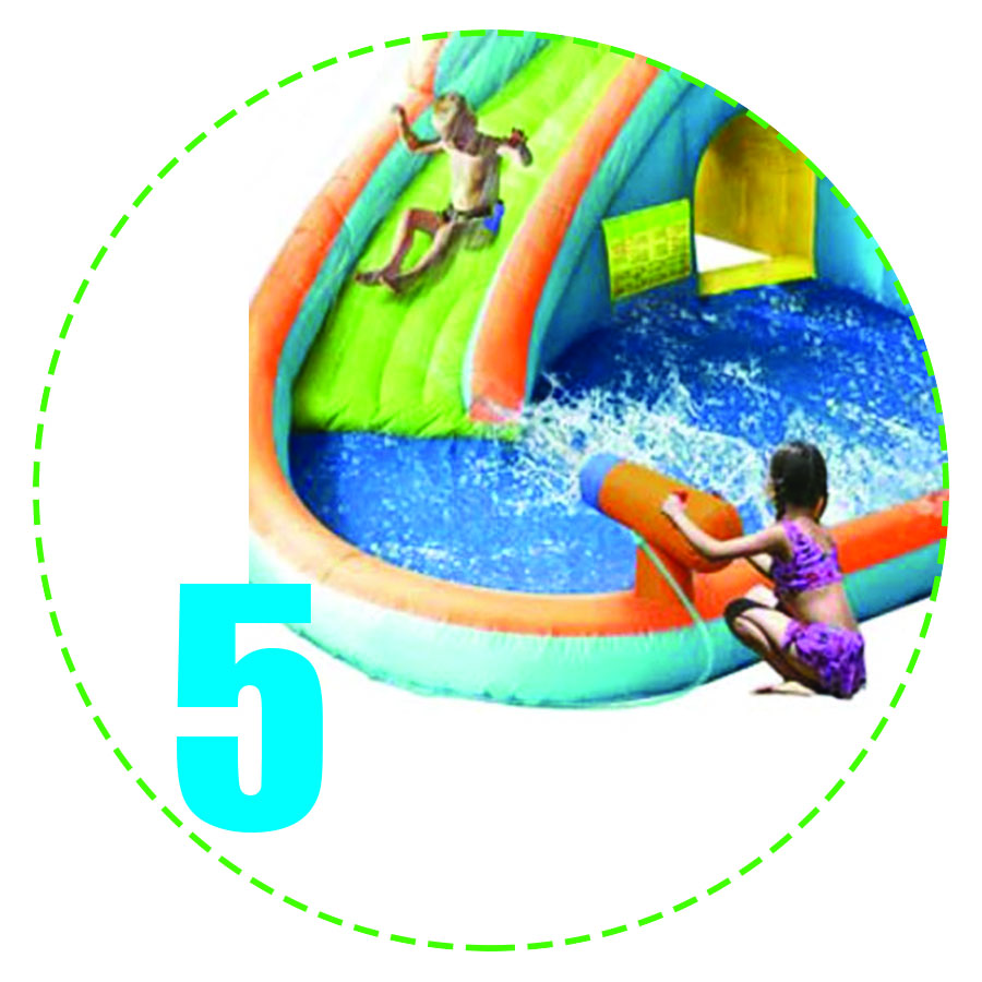 Splash Landing Water Slide