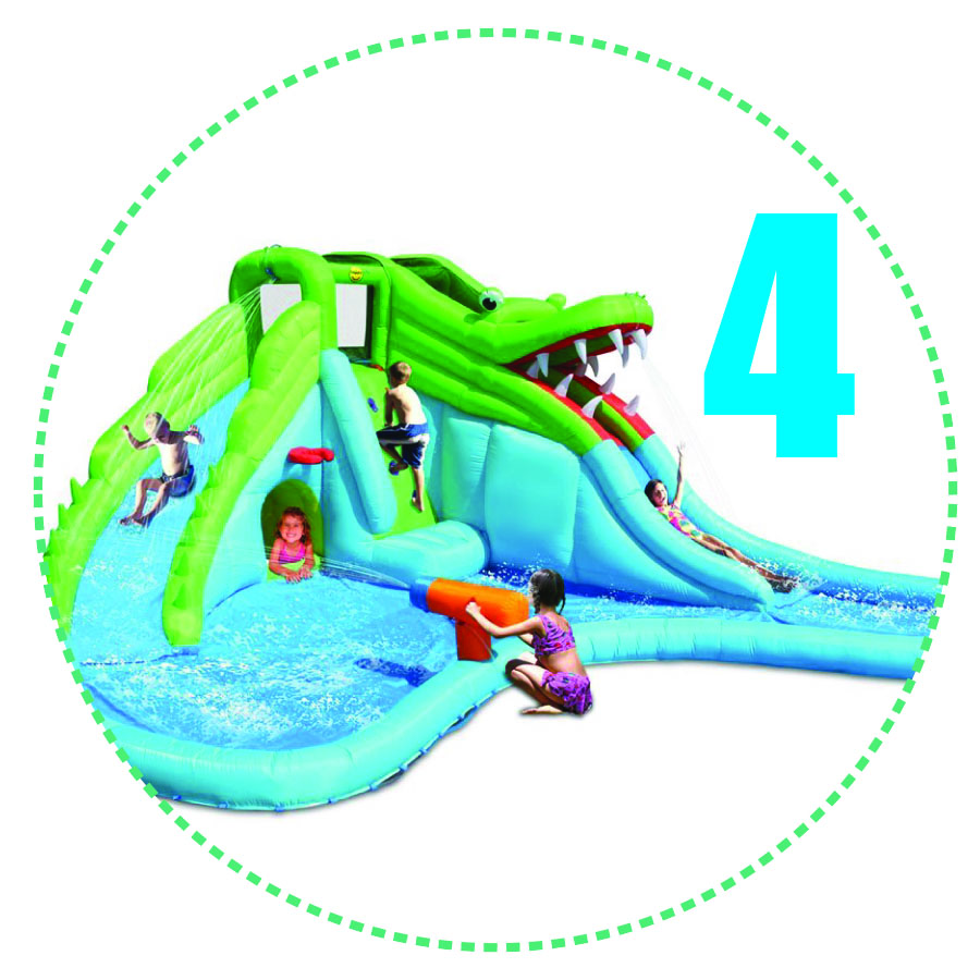 Crocodile Swamp Water Slide