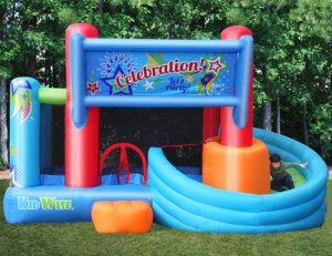 Celebration Bounce House and Tower Slide