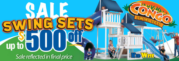 Congo Swing Set Sale