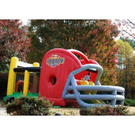 KidWise Gridiron Football Challenge Gameday Commercial Bounce House