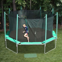 SportsTramp Extreme 16' Octagon Trampoline with Detachable Cage