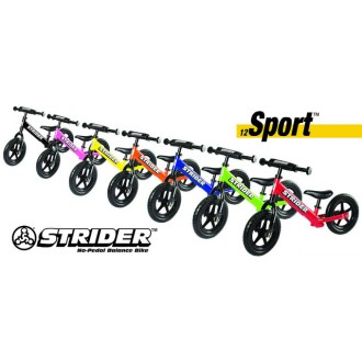 Strider Sport No-Pedal Balance Bike (Multiple Colors Available)