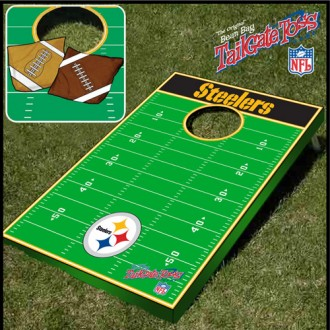 Pittsburgh Steelers Tailgate Toss - Corn Hole Game