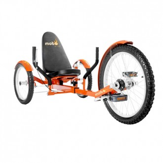 Mobo Triton Pro – The Ultimate Three Wheeled Cruiser - Orange