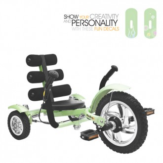 Mobo Mini – The World's Smallest Luxury Three Wheeled Cruiser - Multiple Colors