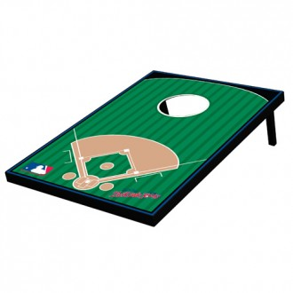 Tailgate Toss - Generic Baseball Field - Bean Bag Toss and Corn Hole Game