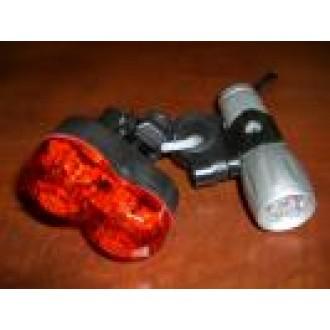 Bike L.E.D Headlight and Rear Light Combo