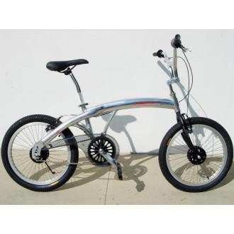 BMX Silver Bike