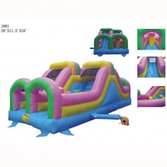 Commercial Grade 26' Double Challenger Slide