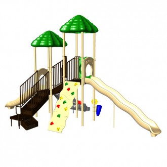 UP & UP Double Deck Commercial Playsystem