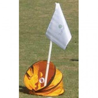 BirdieTarget with Flag Set for Birdie Ball Golf