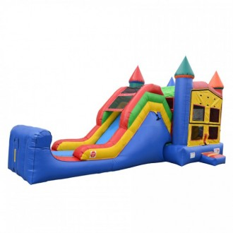 5 in 1 Super Castle Combo - Commercial Inflatable Combo