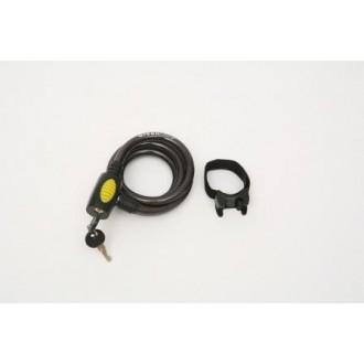 Cable Bike Lock w/ 2 Keys and Bracket