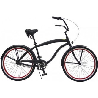 Men Aluminum 26 inch Shimano Internal 3-Speed Deluxe Beach Cruiser