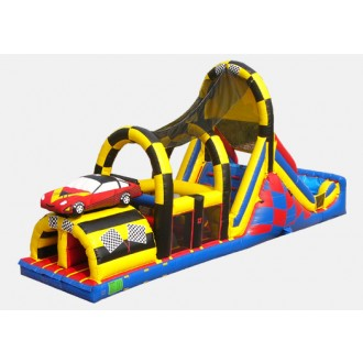 Backyard Race Course - Commercial Inflatable Obstacle Course
