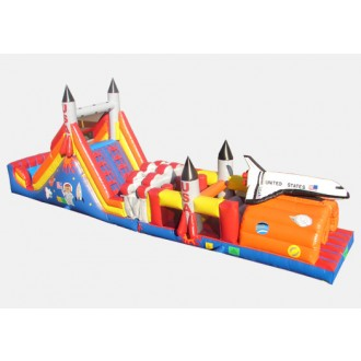 Shuttle Obstacle Challenge - Commercial Inflatable Obstacle Course