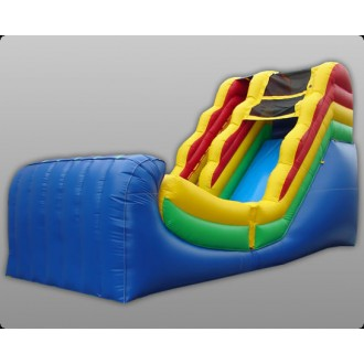 16' Wet & Dry Slide - Rainbow Commercial Inflatable
