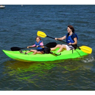 Lifetime 10' Manta™ Tandem Kayak - Lime Green