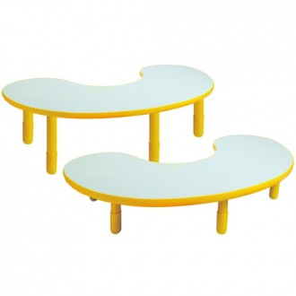 Angeles® Baseline® Teacher/Kidney Table, Multiple Sizes and Colors