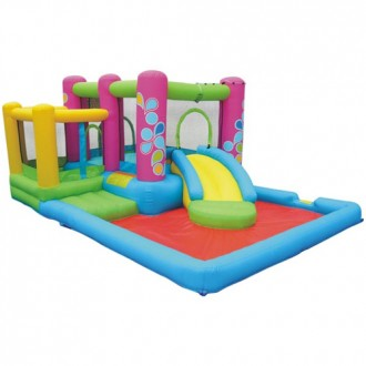 Little Sprout All-In-One Bounce 'N Slide Combo