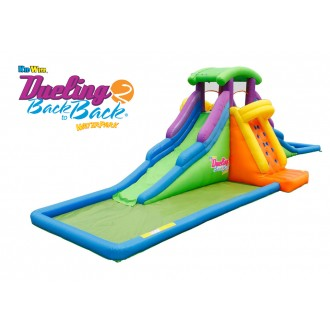 DUELING™ 2 Back to Back™ Inflatable Waterslide