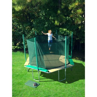 SportsTramp Extreme 14' Hexagon Trampoline with Safety Cage
