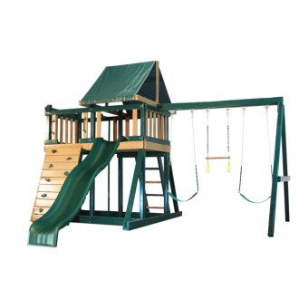 Monkey Play Set Package #1 Green and Cedar