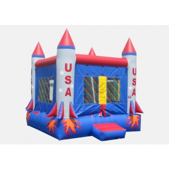 Rocket Bouncer - Commercial Inflatable Bounce House