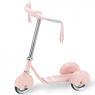 Morgan Cycle Retro Scooter Pink