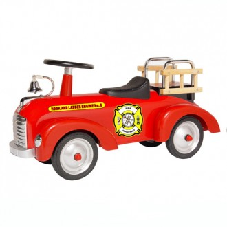 Fire Engine ScootSter Riding Toy