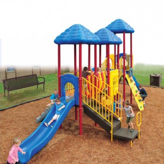 Up and Away Playful Commercial Playsystem