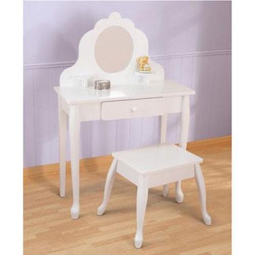 Kidkraft medium diva table and stool for Table kidkraft