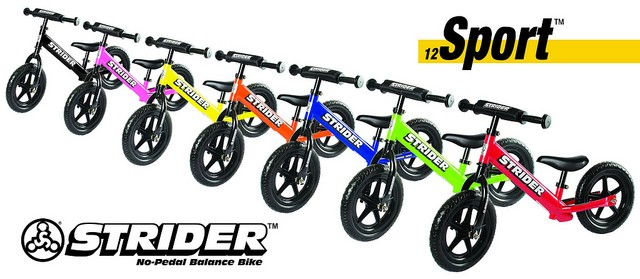 how to go from strider to pedal bike
