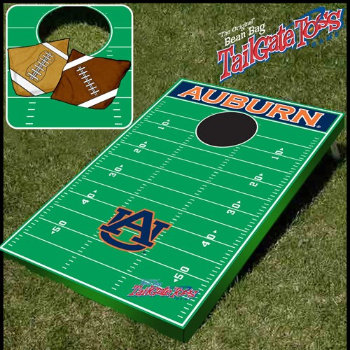 Tailgate Toss Ncaa Licensed Football Field Tailgate Game
