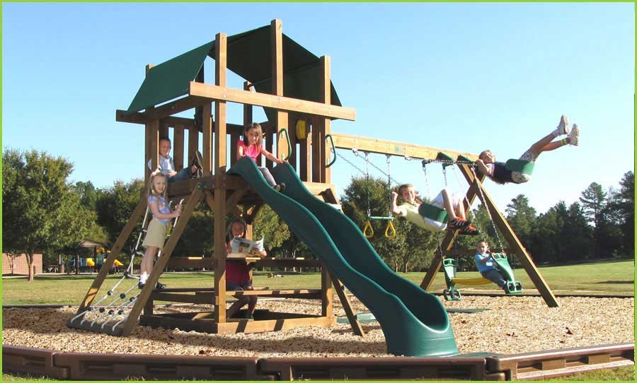 Creative Playthings Williamsburg Package 1 Swing Set
