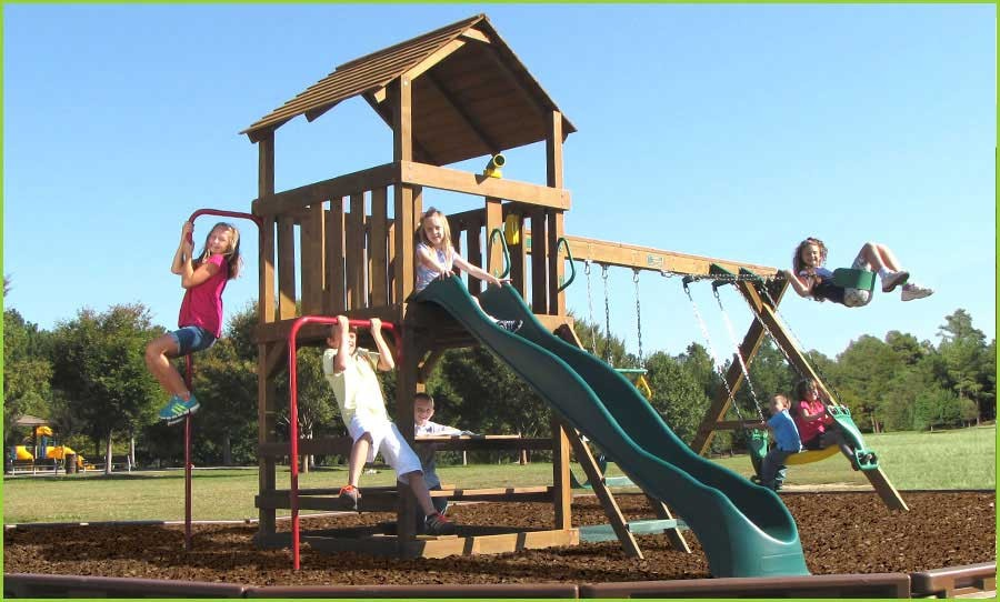 Creative Playthings Williamsburg Package 2 Swing Set