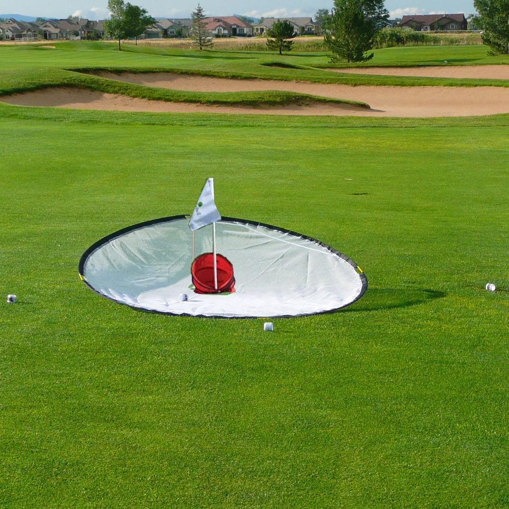 Golf: BirdieHoop 6' Target And BirdieTarget With Flag Set For