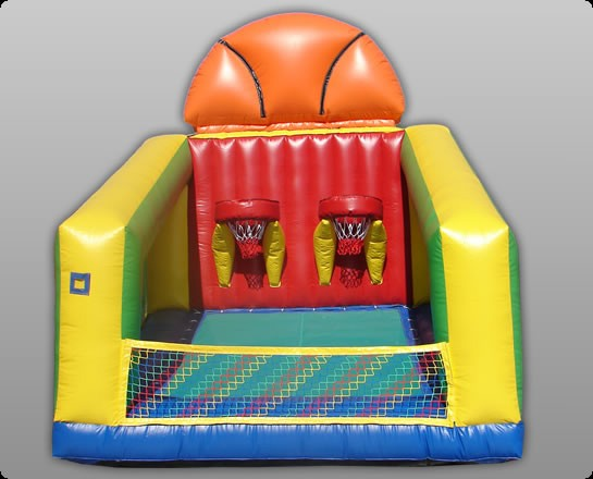 Basketball Challenge Arena Commercial Grade Inflatable Game
