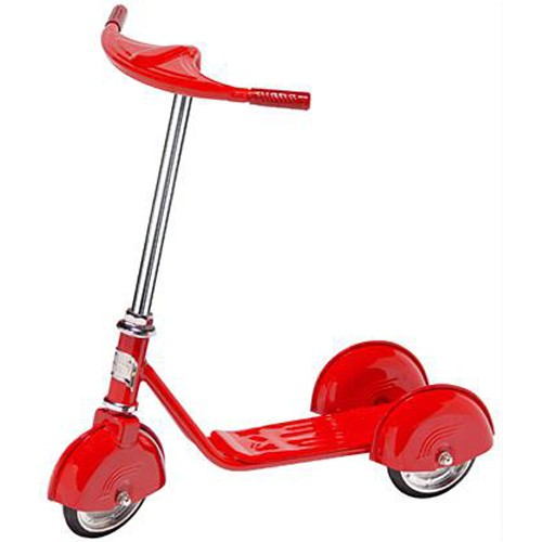 Home > Morgan Cycle Retro Style 3 Wheel Scooter RED