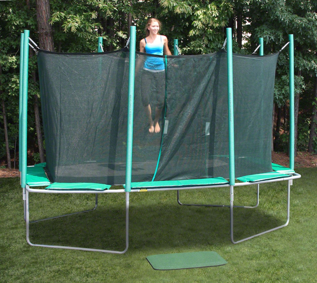 9 X 14 Rectagon Magic Circle Trampoline