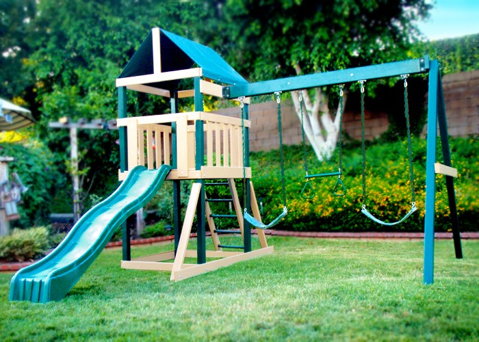 Kidwise Safari Swing Set
