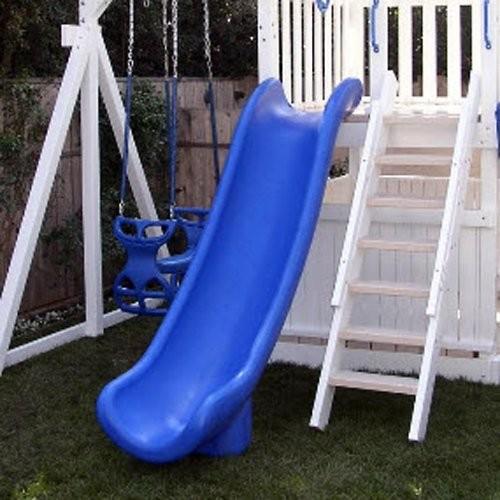 Scoop Slide 5 Deck Height Blue