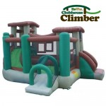 Kidwise Clubhouse Climber Bouncer - Inflatable Bounce House