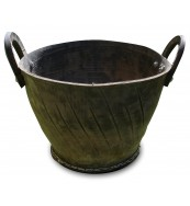 Recycled Treads Tire Pottery - Wide Basin