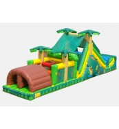 Backyard Tropical Obstacle Course - Commercial Inflatable Obstacle Course