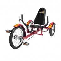 Mobo Triton Ultimate 3-Wheeled Cruiser - Red