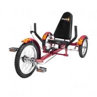 Mobo Triton Ultimate 3-Wheeled Cruiser - Red