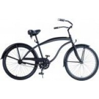 Men 26 inch Extended Deluxe Beach Cruiser - Multiple Colors