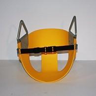 Half Bucket Belted Toddler Swing - Multiple Colors